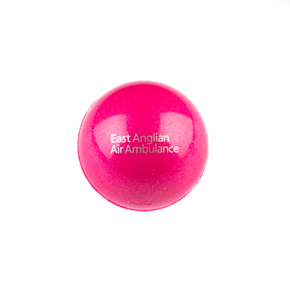 Pink Bouncy Ball