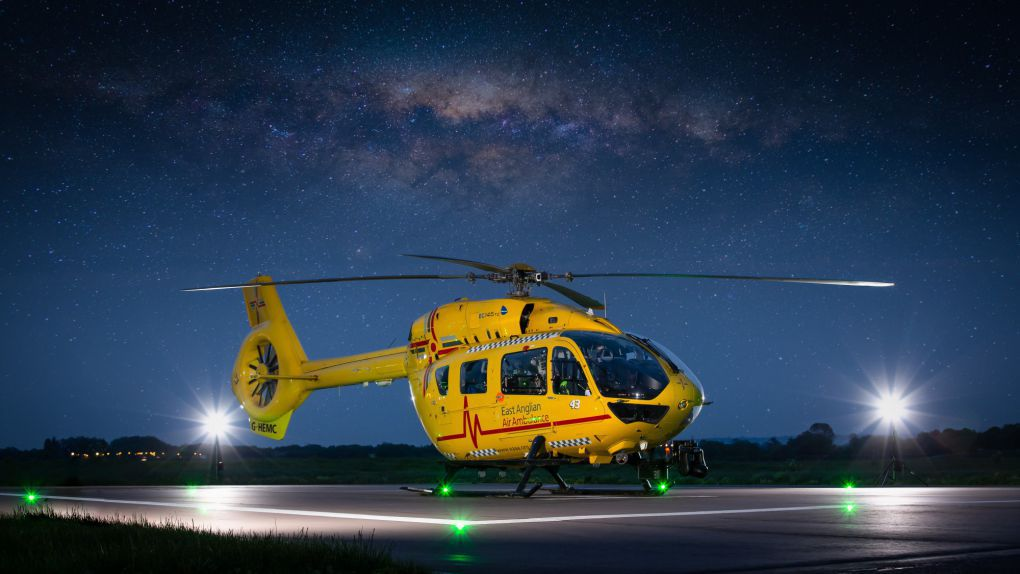 Our H145 Helicopters | East Anglian Air Ambulance | Together