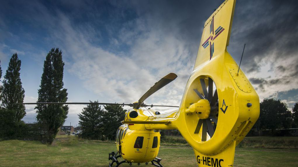 Our H145 Helicopters | East Anglian Air Ambulance | Together we save