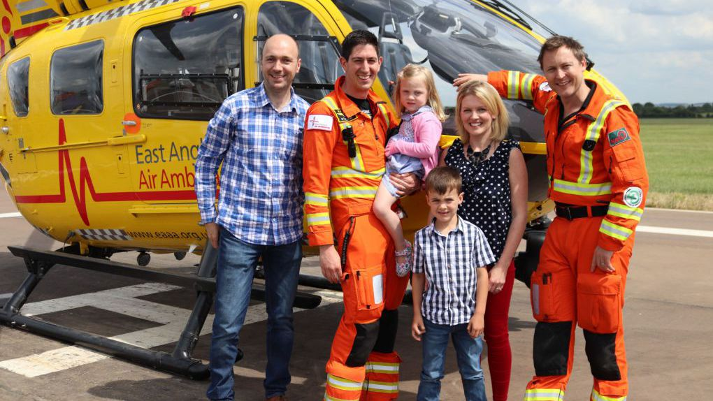 East Anglian Air Ambulance patient aftercare