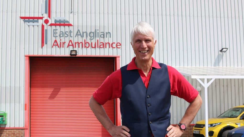 Patrick Peal CEO of East Anglian Air Ambulance announces retirement