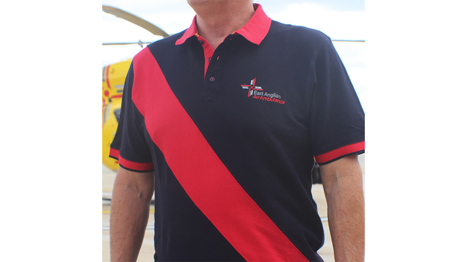 Adult Diagonal Stripe Pique Polo