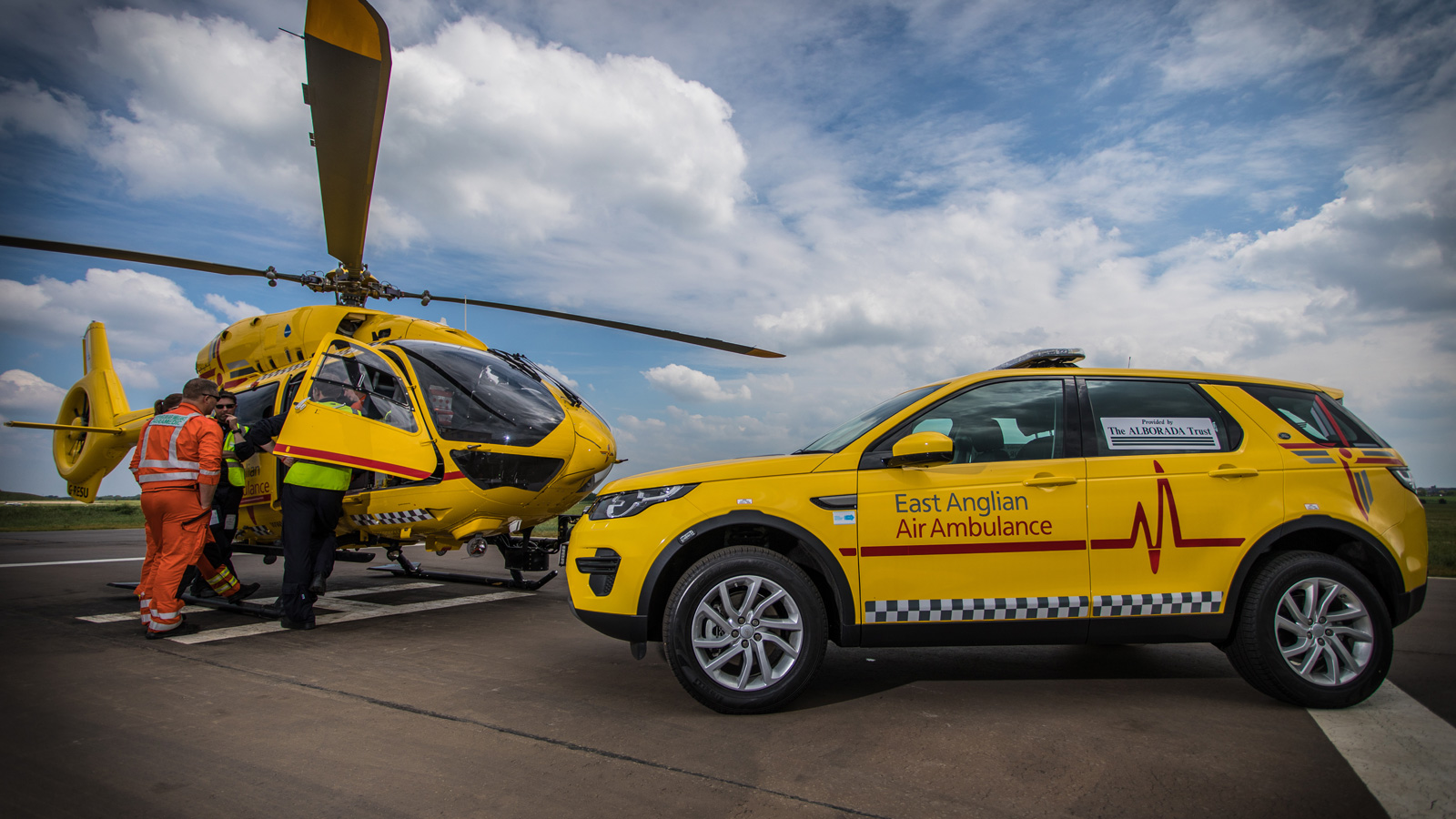 Grants from Trusts | East Anglian Air Ambulance