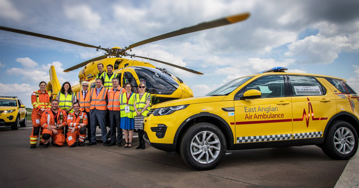 Missions | East Anglian Air Ambulance | Norfolk Suffolk